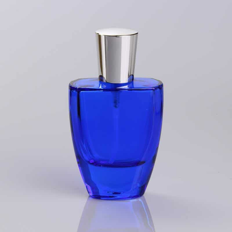 50ml Blue Coating Glass Bottle