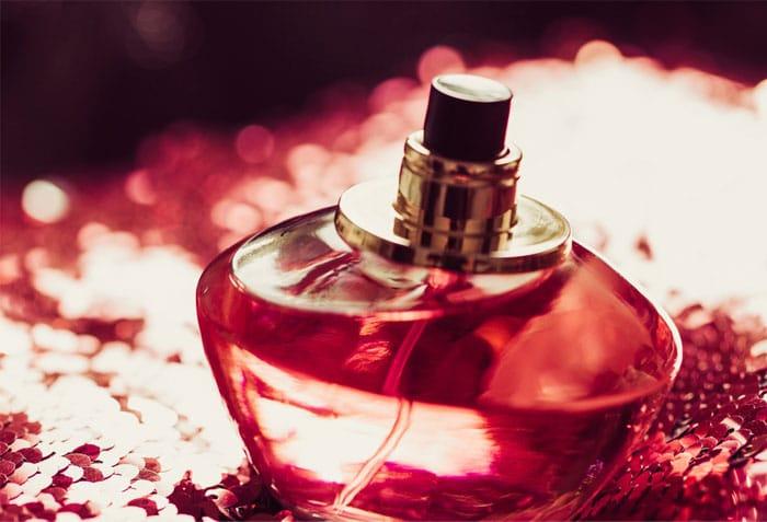 red-perfume-bottles